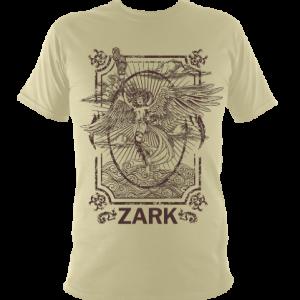 Zark unisex Tisiphone t-shirt design on sand