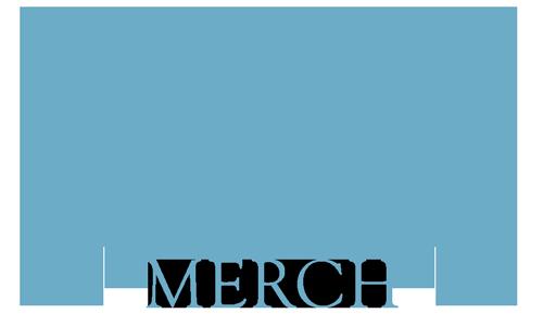 Zark merch band logo blue