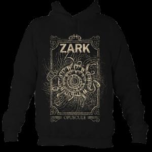 Zark unisex sarlacc style hoodie gold and black